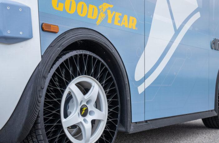 Goodyear va testa anvelope non-pneumatice(NPT) in Statele Unite - Articole anvelope iarna, vara, all season