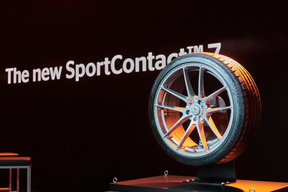 Noua anvelopă de vară Continental SportContact 7 - Articole anvelope iarna, vara, all season
