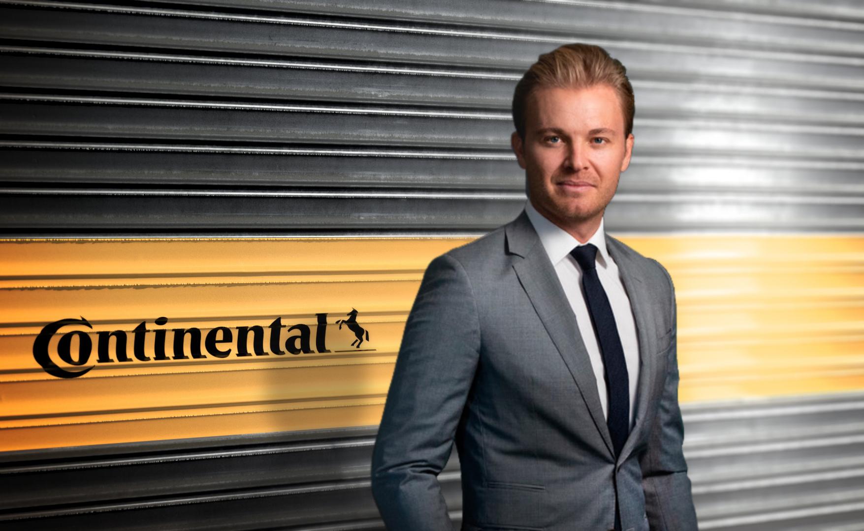 Nico Rosberg, campion mondial la F1 și antreprenor pentru sustenabilitate, este noul ambasador al mărcii Continental - Articole anvelope iarna, vara, all season
