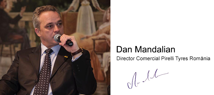 Esti pregatit pentru iarna?  Dan Mandalian - Director Comercial Pirelli Tyres România - Articole anvelope iarna, vara, all season