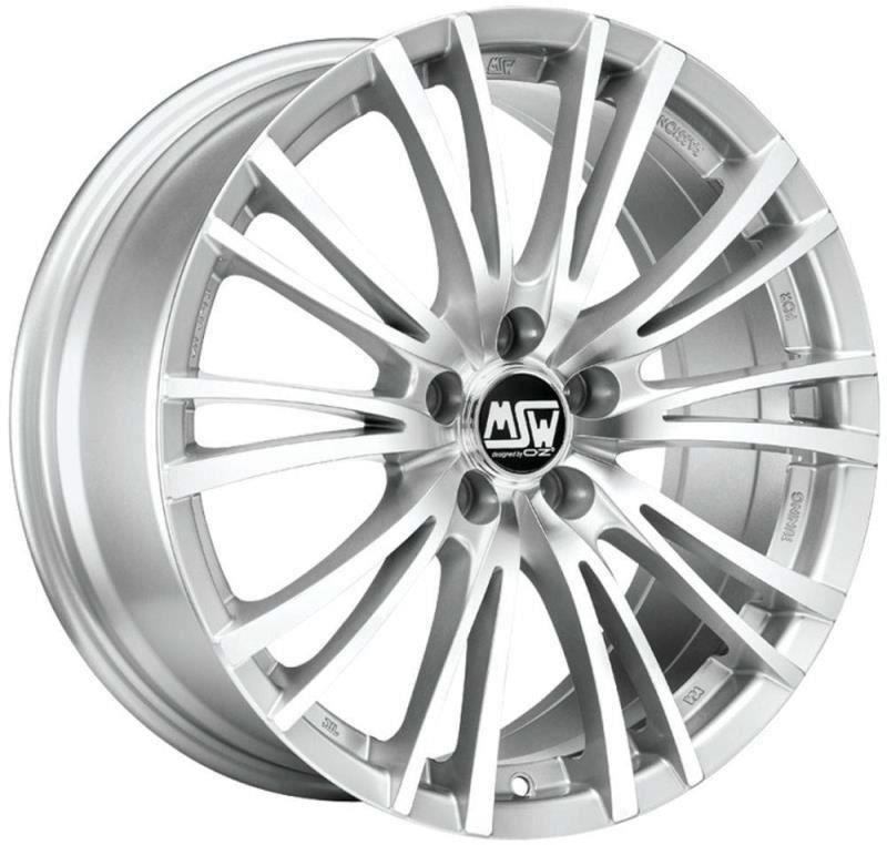 Janta aliaj MSW 20-5 Silver Full Polished 7x16 5x112 ET48
