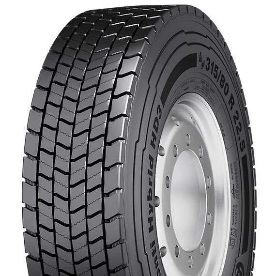 Anvelope CAMIOANE CONTINENTAL CONTI HYBRID HD3 - 315/70 R22,5 152/148M