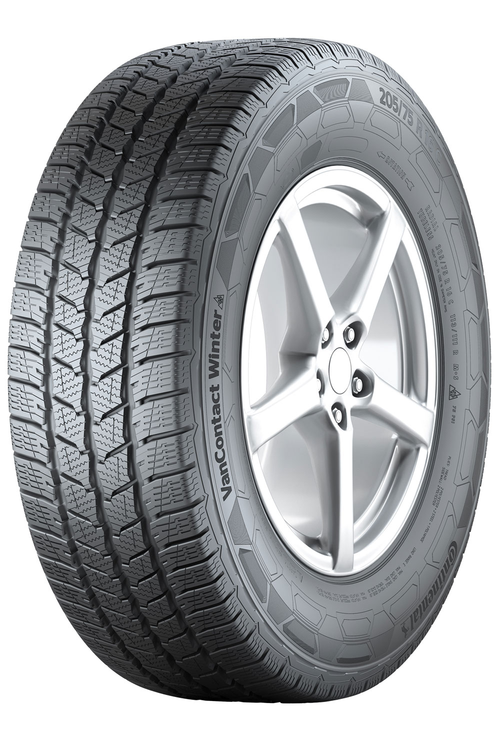 Anvelope IARNA CONTINENTAL VAN CONTACT WINTER - 235/65 R16C 115/113R