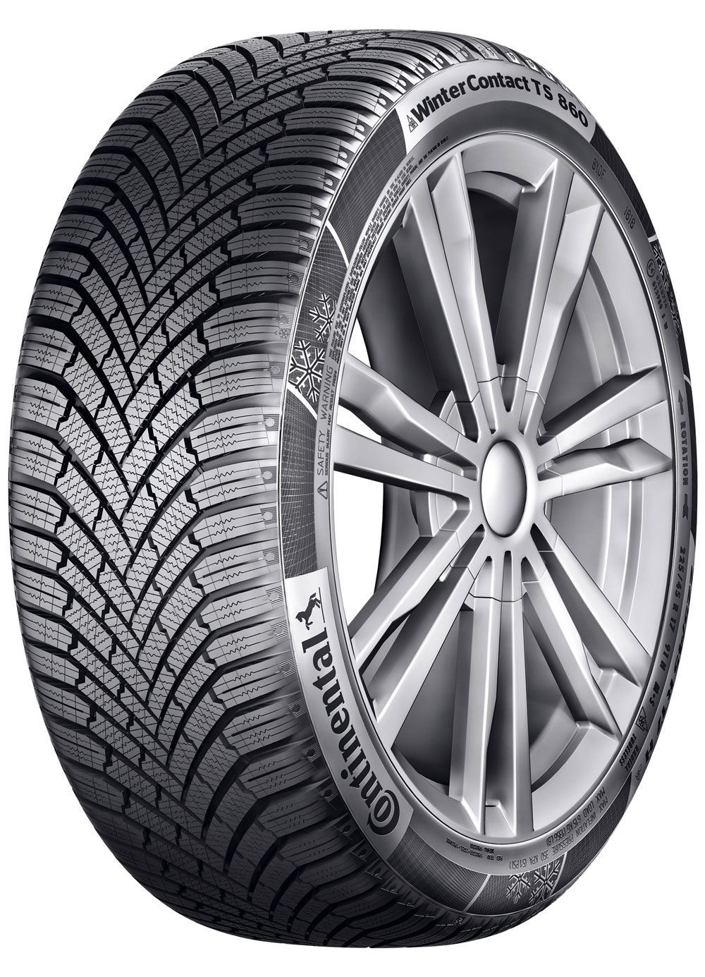 Anvelope IARNA CONTINENTAL WINTER CONTACT TS860 RUN FLAT - 225/45 R17 91H  SSR